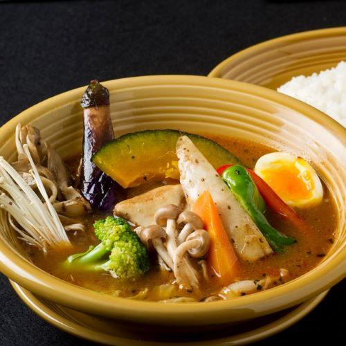 きのこ野菜スープカレー