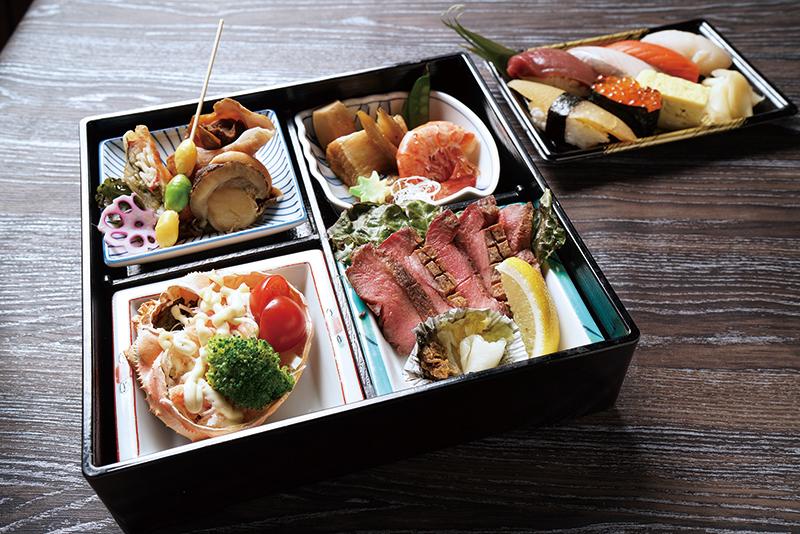 寿司弁当ー雅御膳(みやびごぜん)