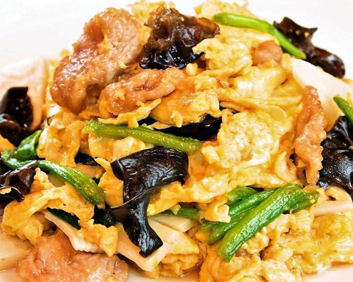 木須肉(玉子とキクラゲ炒め)