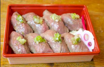 牛タンの握り寿司