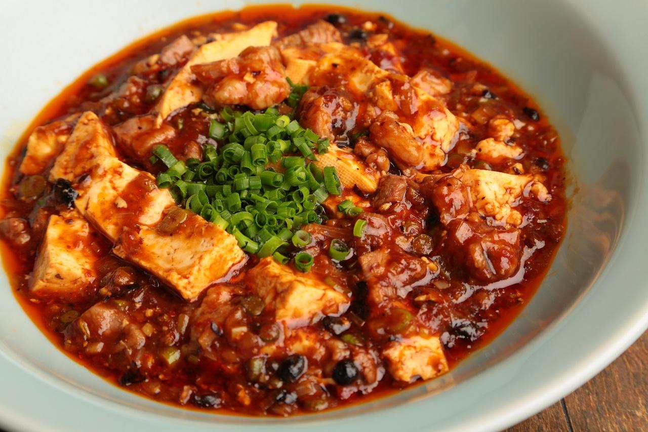 角切りラム肉の麻婆豆腐