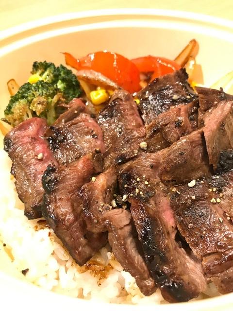 牛ハラミステーキ丼M