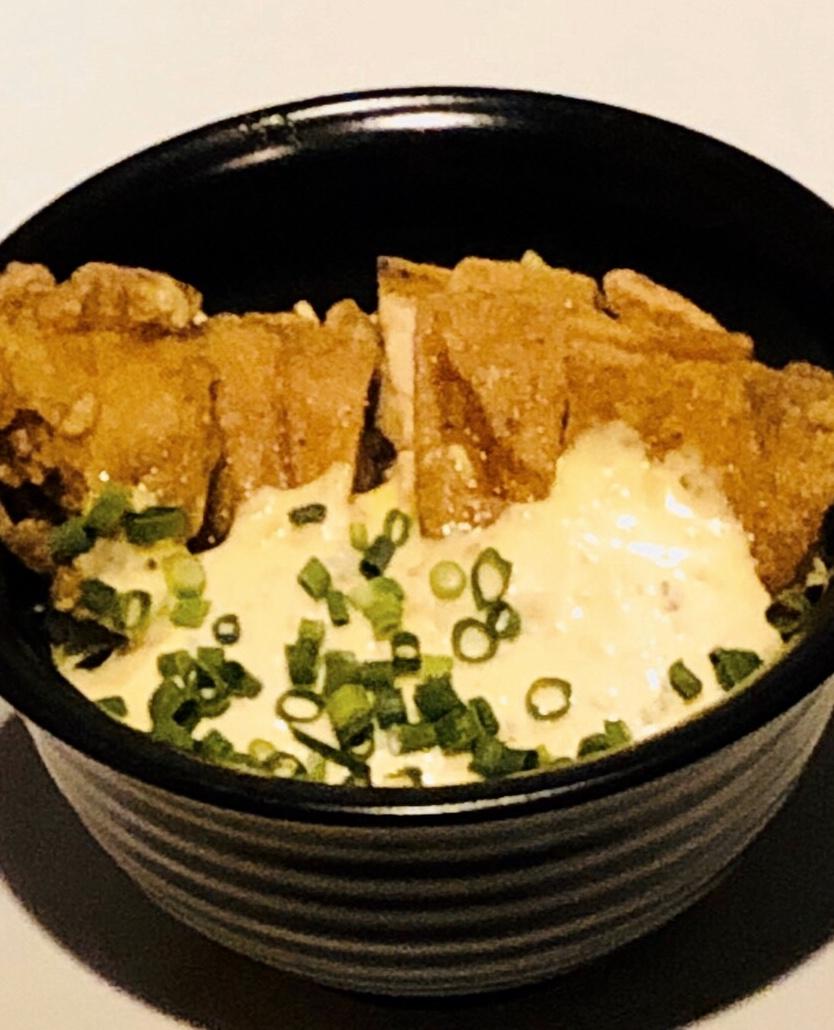 タルタル油淋鶏丼
