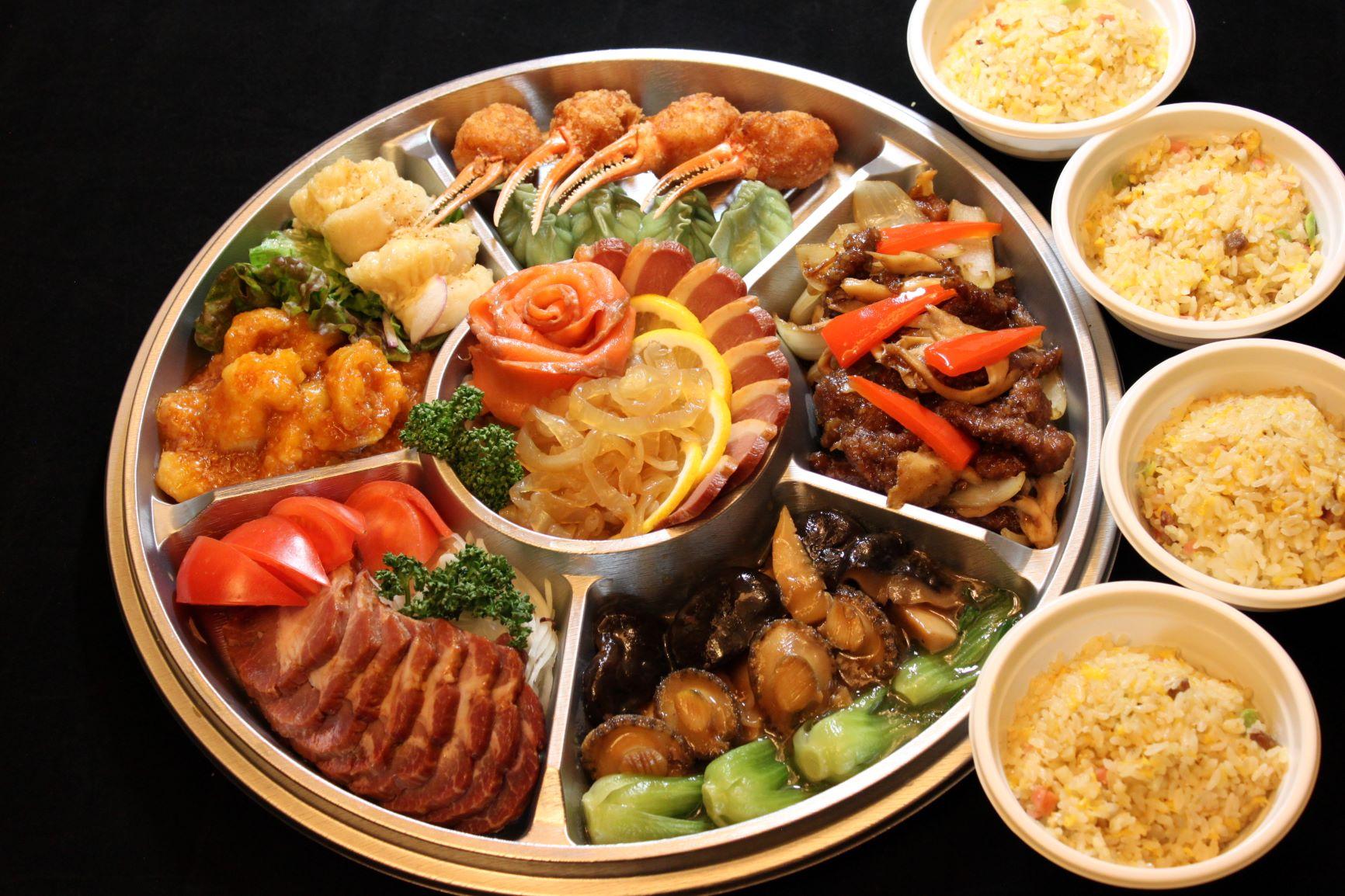 コースオードブルお一人様4,320 2名様~ 高級食材も堪能できるフルコースです。