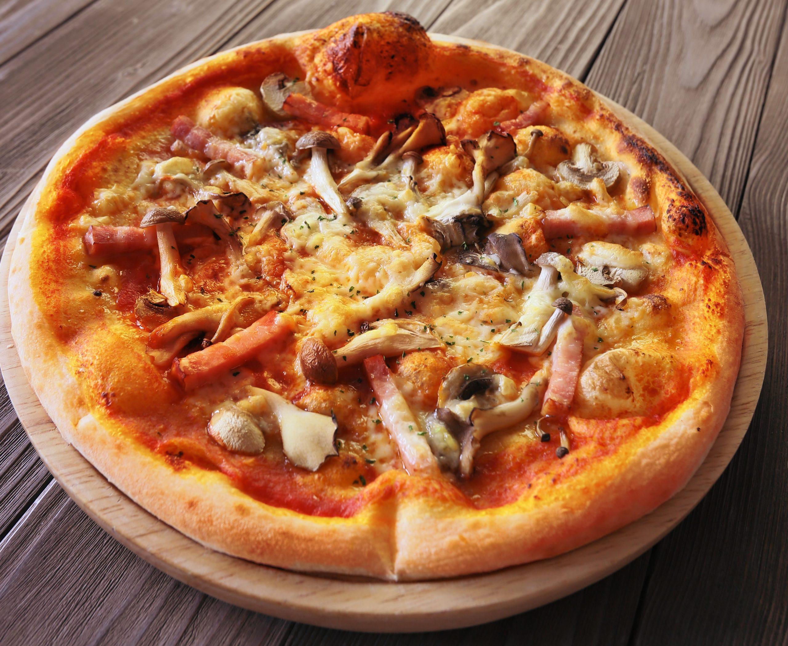 ボスカイオーラピザ