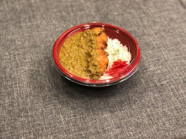 ラムメンチカツカレー丼(ライス大盛り無料)