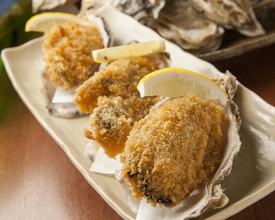 北海道産 活牡蠣フライ(1個)