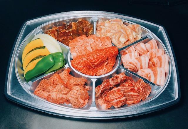 肉盛りAセット(3人盛り)