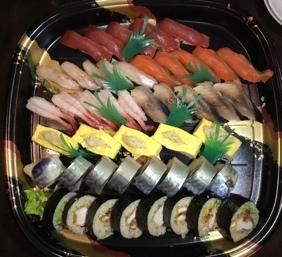 お寿司5人前