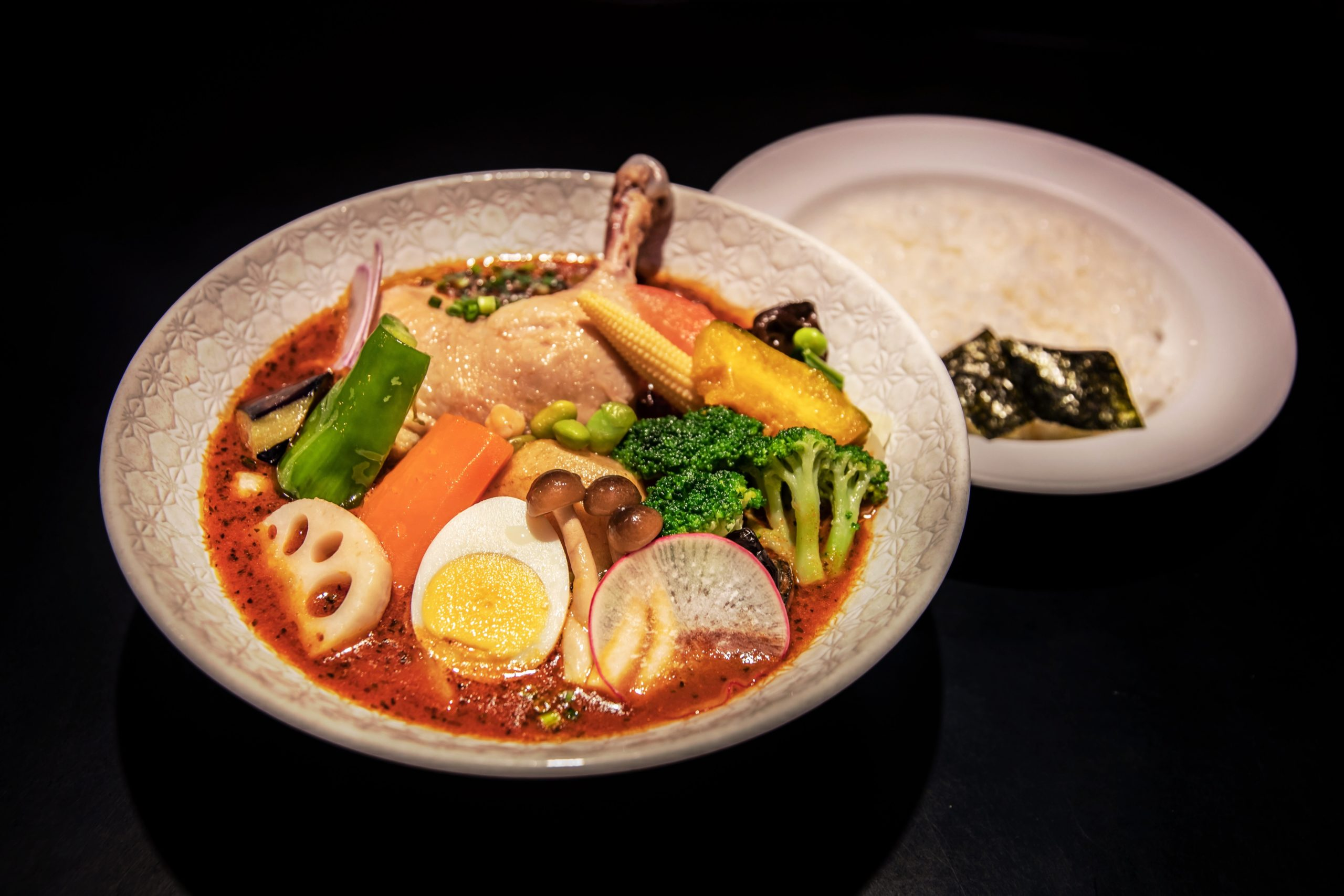 とりと野菜のスープカレー