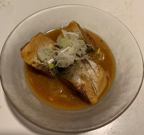 サバ味噌ソテー