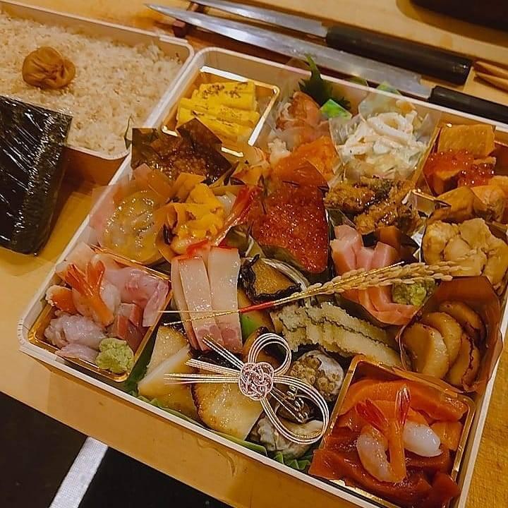手巻き寿司とつまみセット