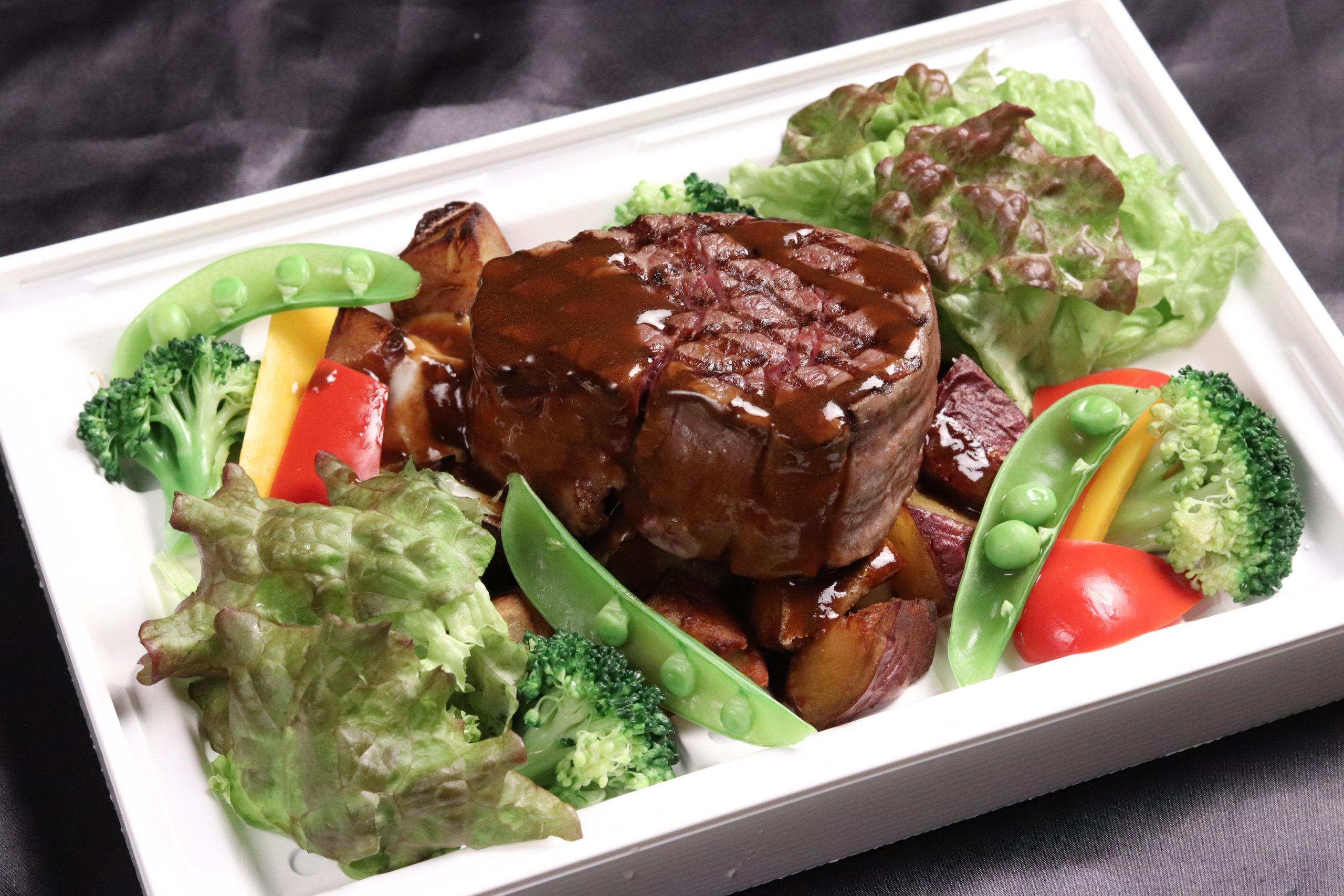 道産牛ヒレ肉のロースト