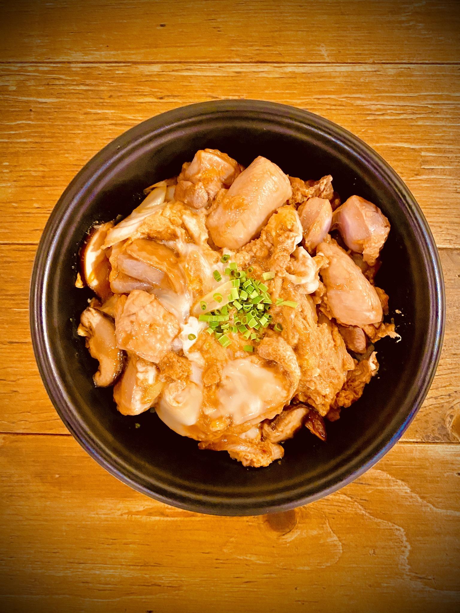 信州黄金シャモの親子丼