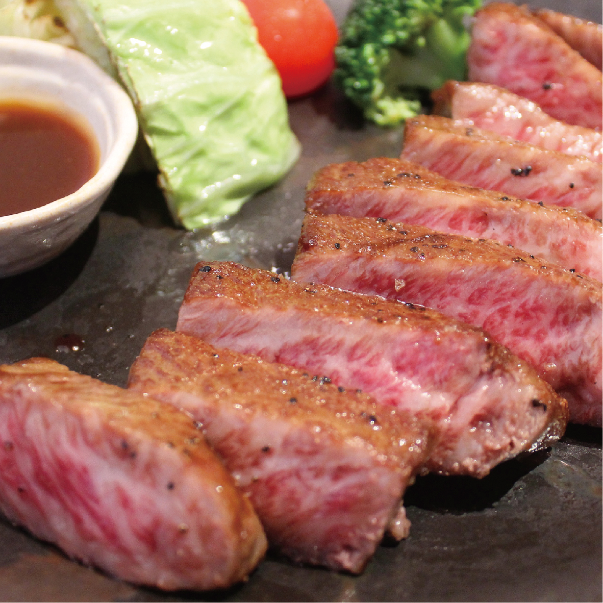 黒毛和牛のサーロインステーキ弁当