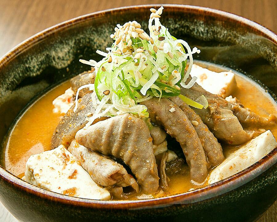 ホルモン煮込み(豆腐入り)