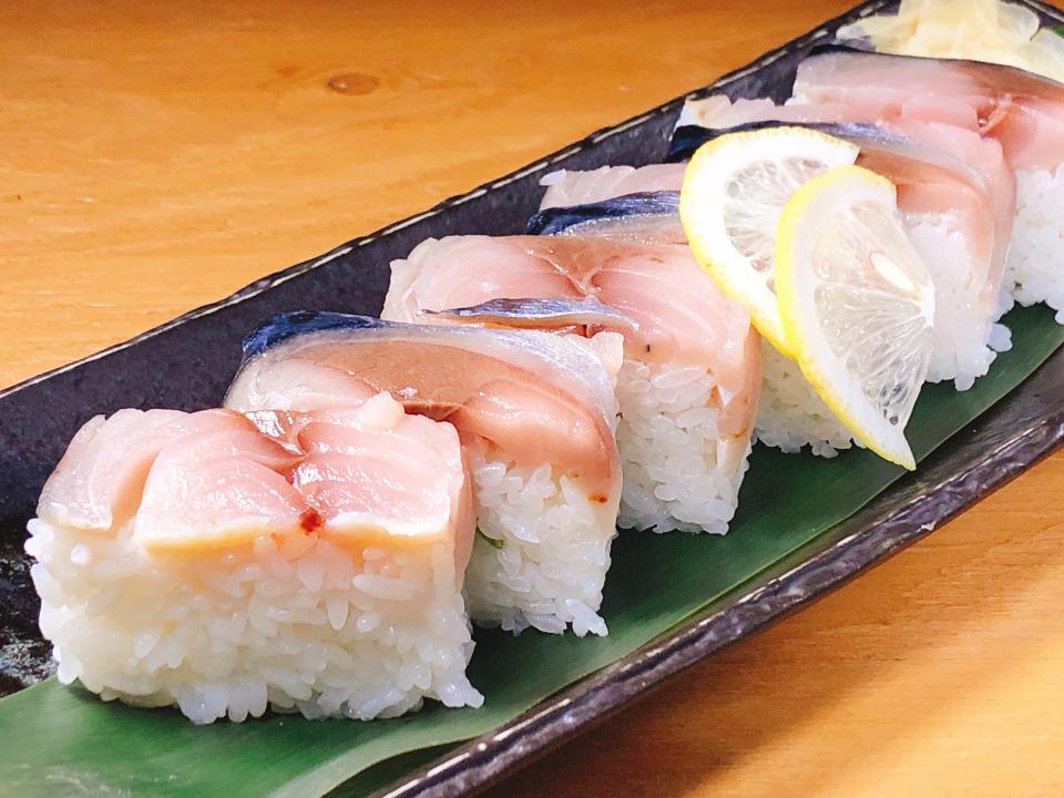 サバの押し寿司
