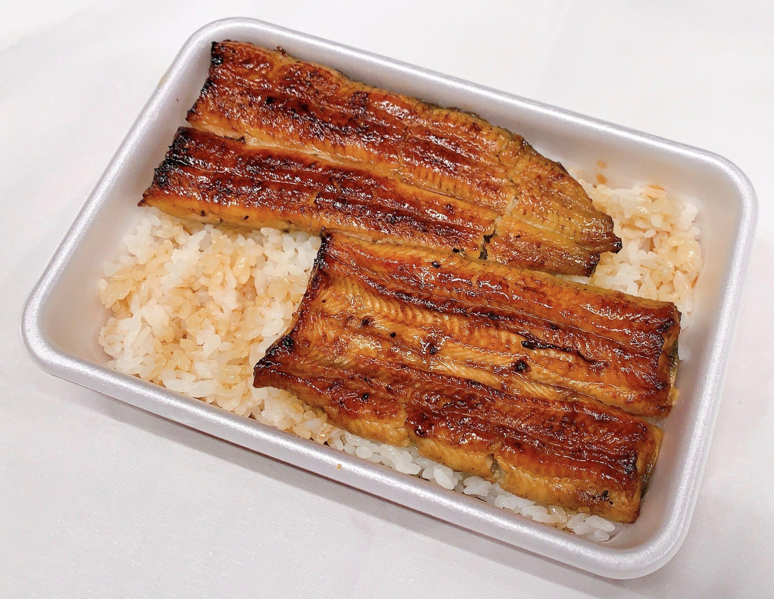 禄(ろく)弁当 鰻1尾