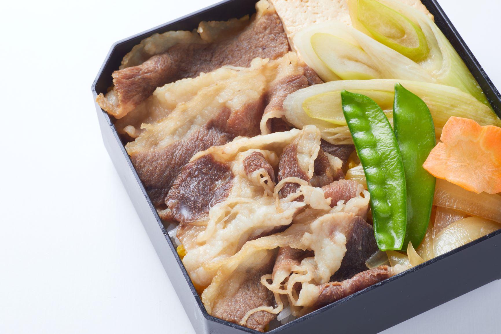 十勝ハーブ牛すき焼き弁当