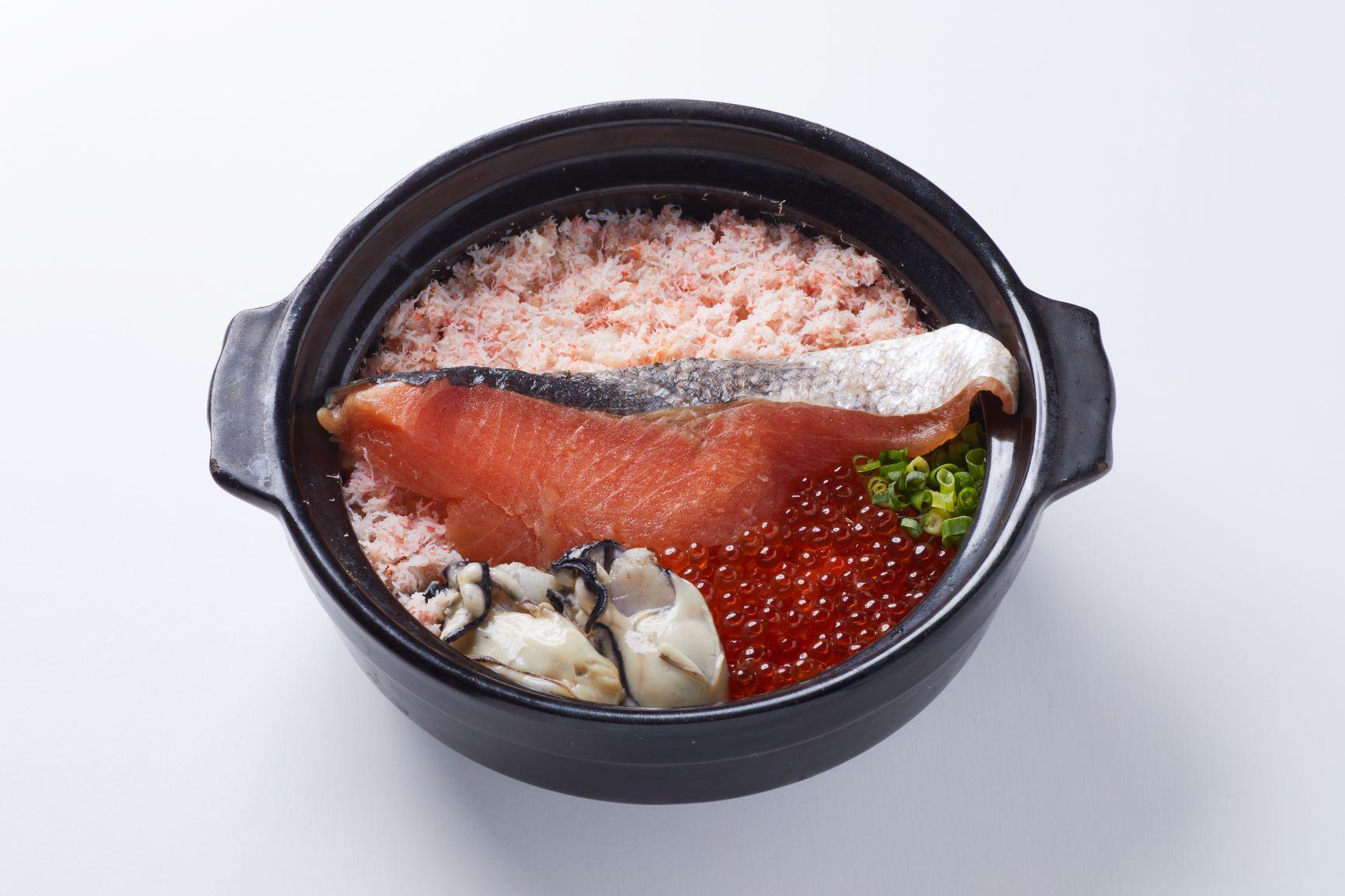 漁師飯(いくら増量できます)