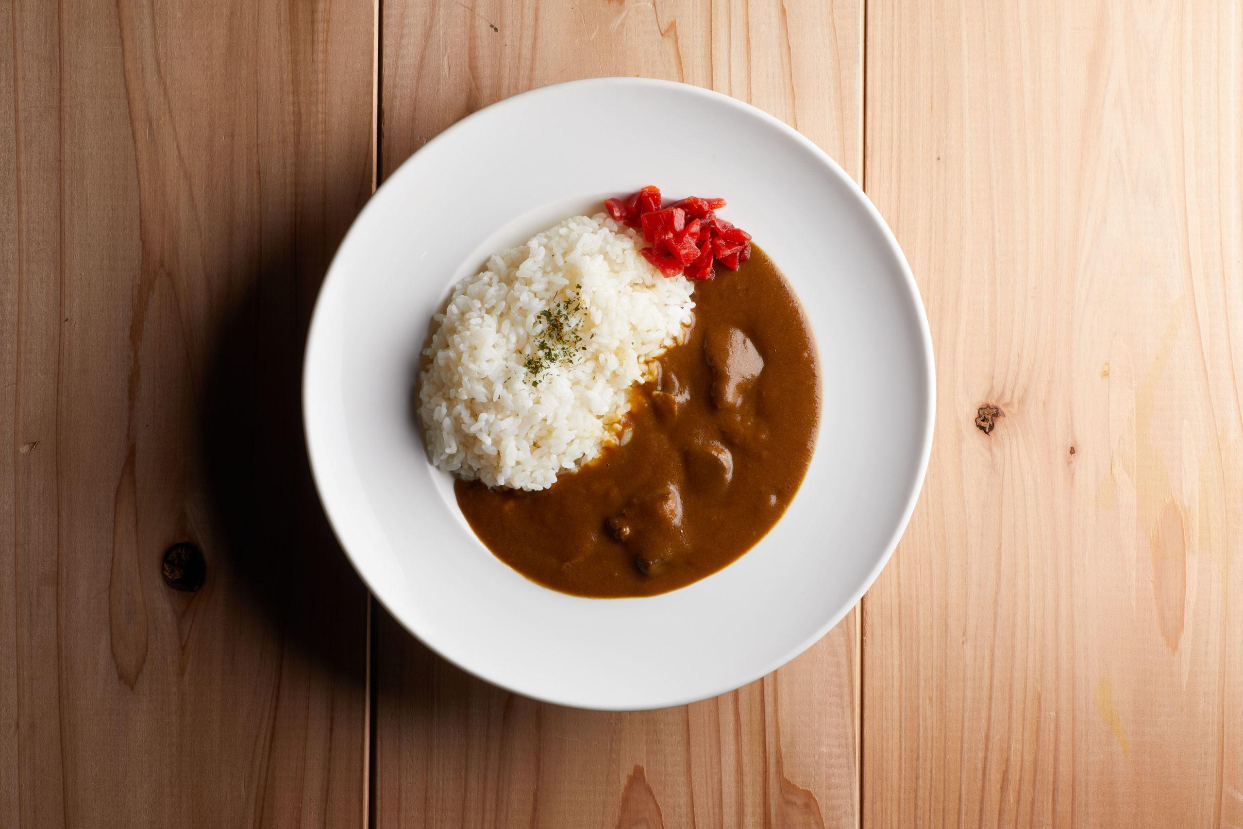 シュラスコ肉の入ったブロガドカレー