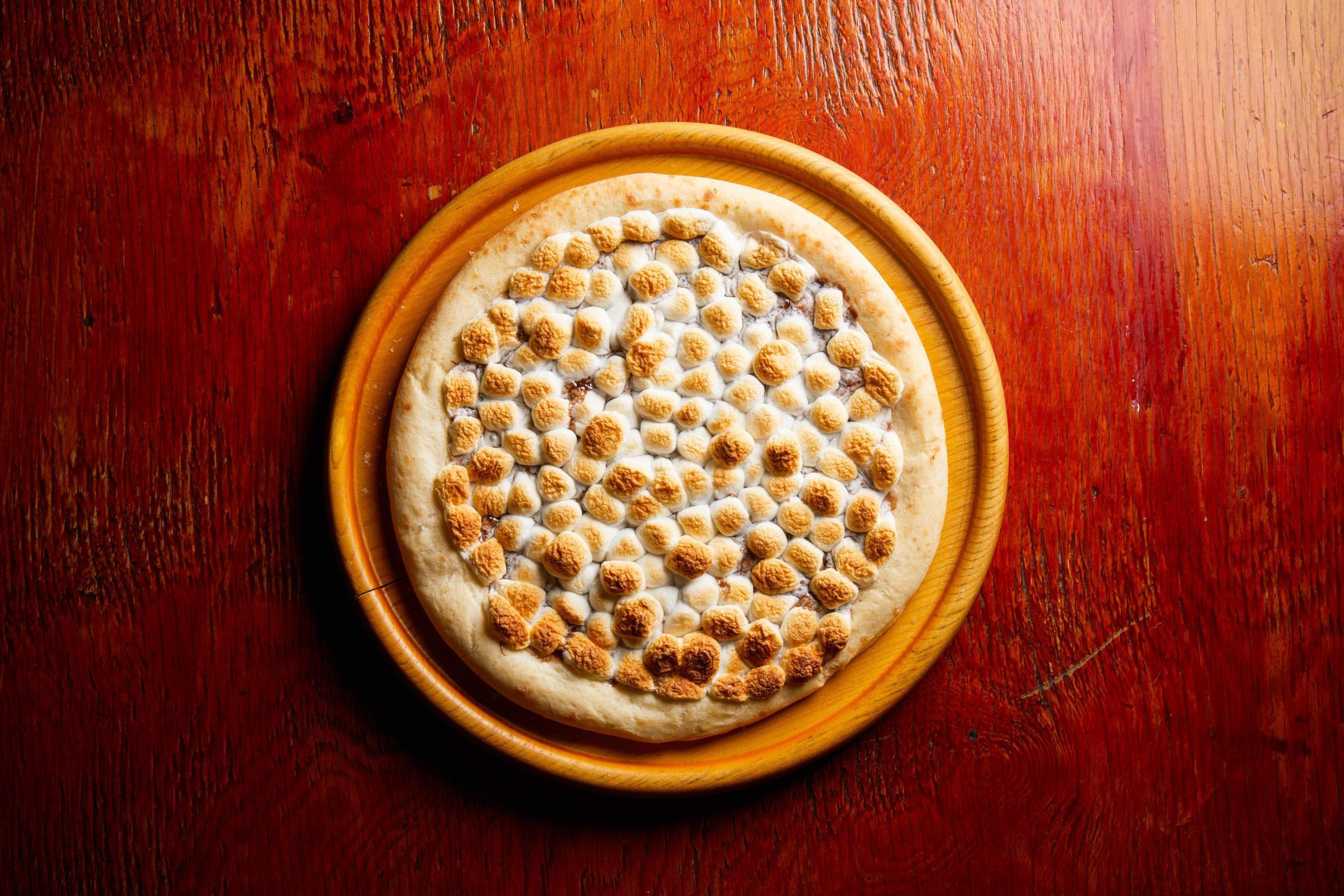 スモアピザ