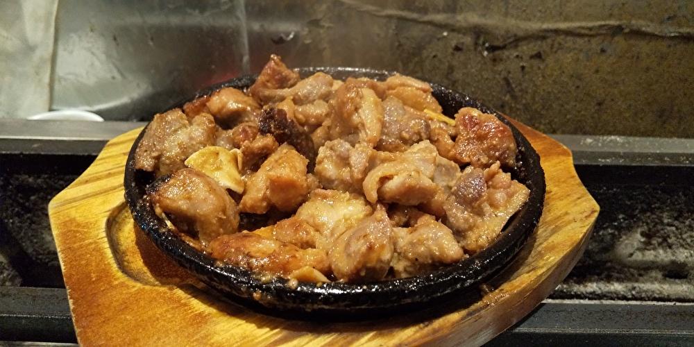 薩摩地鶏モモ焼き みそ焼き 小